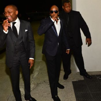 Jeezy outside Hennessy V.S event