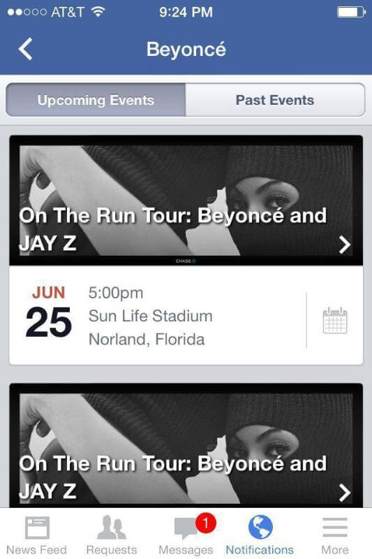 Live Nation Partners with Facebook