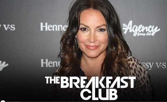 Angie Martinez Interview at The Breakfast Club Power 105.1 #wow