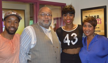ictured Akil Taffe RCA Records, Maxx Myrick Director of Operations and Programming WHUR, Jennifer Hudson and Traci LaTrelle Music Director WHUR.