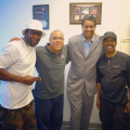 Cut Man LC, WBLS/WLIV OM Skip Dillard, DJ Rocky and Kurtis Blow