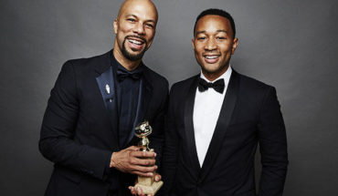 BEVERLY HILLS, CA - JANUARY 11: Common and John Legend  pose for a portrait for People.com during the 72nd Annual Golden Globe Awards on January 11, 2015 in Beverly Hills, California. (Photo by Maarten de Boer/Getty Images)