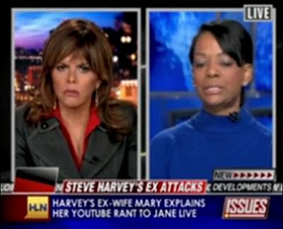 Steve+Harvey+Ex+Wife+Mary+on+CNN+HLN+Jane+Velez+Mitchell