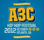 The line-up is almost complete for the 2012 A3C Hip Hop Festival which will take over the city of Atlanta...