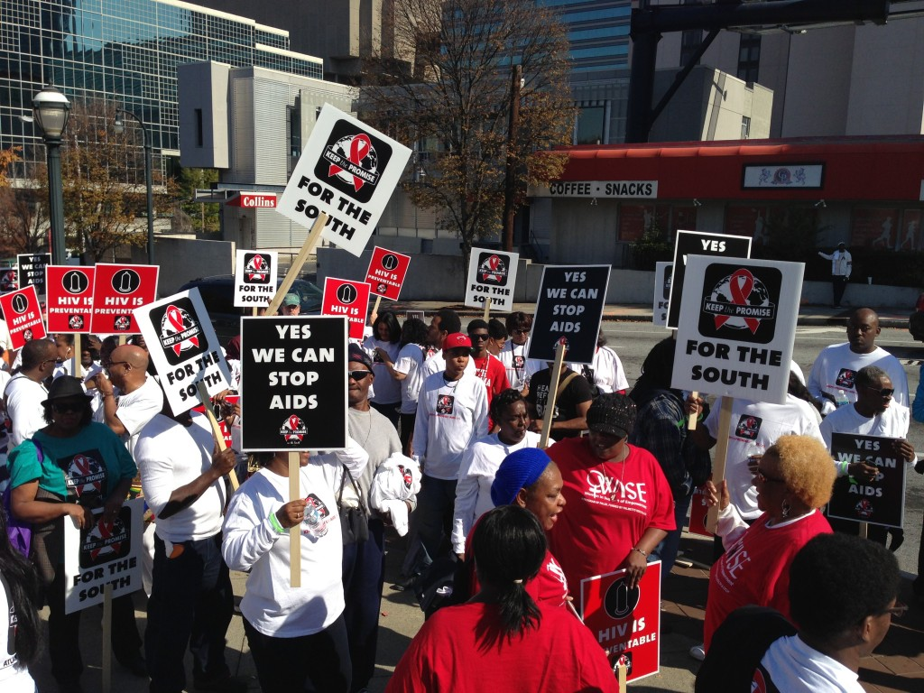 Radio One ATL hits Centennial Olympic Park for the Keep the Promise in the south AIDS walk