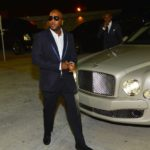 Jeezy arriving to hennessy V.S NYE Takeover