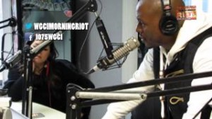 Tyrese WGCI 300x168 Tyrese Calls Out Obama, Oprah, and the Chicago Community on WGCI