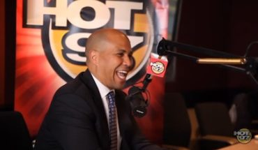 CoreBookeronHOT97 370x215 Angie Martinez Talks to the Next Black President: Mayor Cory Booker