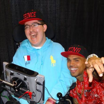 Kids Wish Network and Chris Brown Make Dream Come True for Virginia Teen