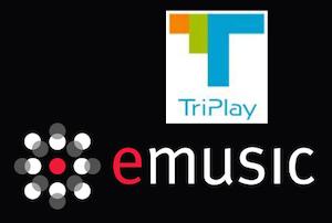 TriPlay-eMusic-logos