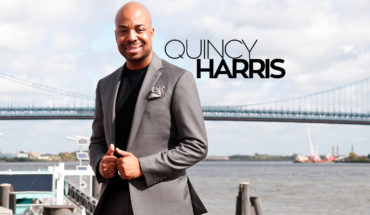 Homepage slider for QuincyHarris.com, official website for content provider, tv personality and producer Quincy Harris